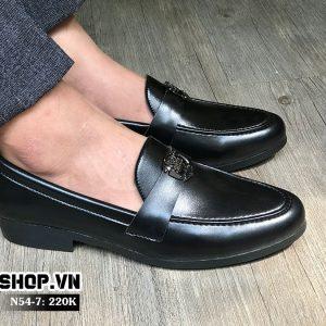 Giày lười giá rẻ kết hợp mặt đơn giản N54-7