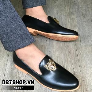 Giày lười nam giá rẻ đế vàng mặt hổ