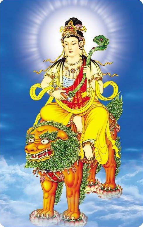 Phật Bản Mệnh Văn Thù Bồ Tát