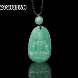 Phật Bản Mệnh Bất Động Minh Vương thạch anh xanh bản nhỏ MBDMV8