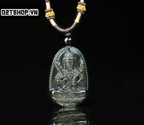 Phật bản mệnh Hư Không Tạng Bồ Tát đá núi lửa bản nhỏ MHKBT7