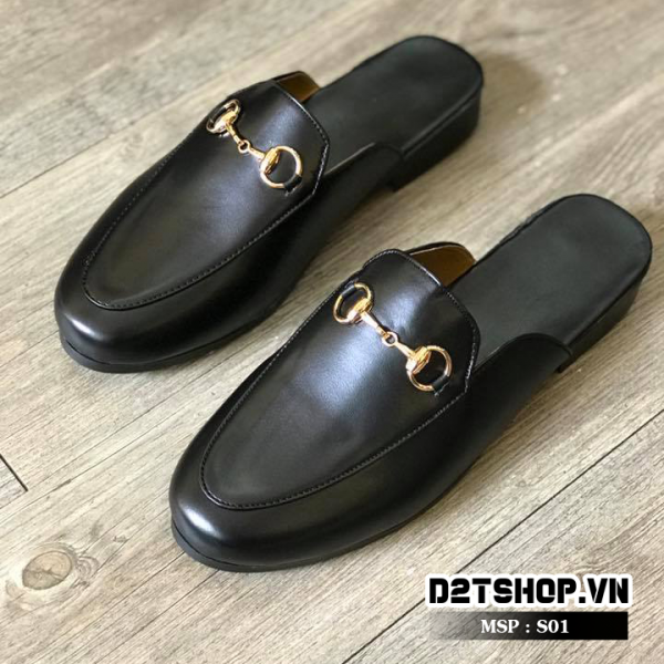Giày sục nam kiểu dáng đơn giản S01