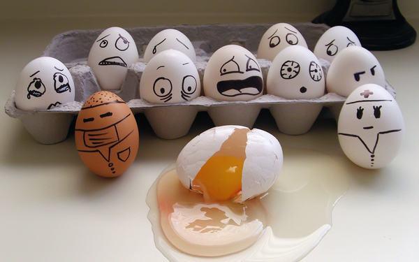 Mơ thấy quả trứng (gà , vịt , ngỗng) là điềm báo gì - Đánh con nào ?