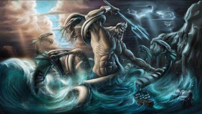 Truyền thuyết về thần Poseidon trong thần thoại Hy Lạp